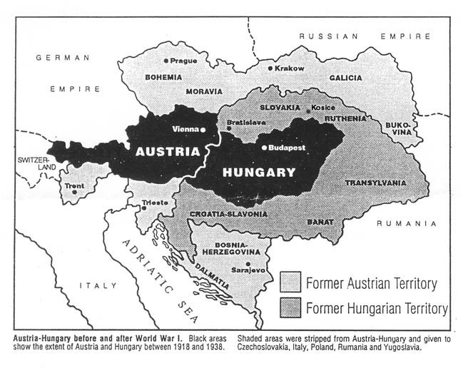 Dual monarchy dual monarchy map czechoslovakia was created after world war i by gumiabroncs Choice Image